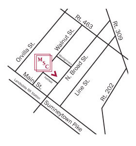 Map to Montgomery Surgery Center